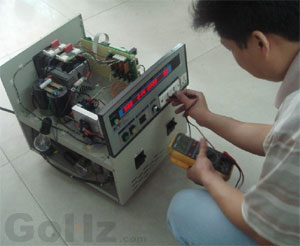 Frequency converter troubleshooting and maintenance